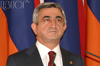 S.Sargsyan sent letter of condolences to Mahmoud Ahmadinejad