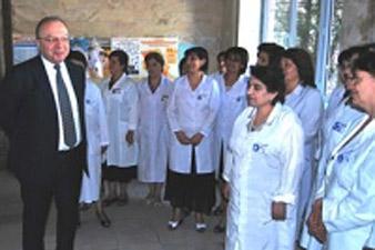 Վարդենիսի բժշկական կենտրոնում խնդիրները բազմազան են