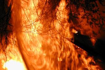 Շիրակի մարզի Զույգաղբյուր գյուղում տան տանիք է այրվել