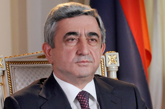 Sargsyan to leave for a three-day official visit to France
