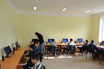 Մարտակերտի շրջանի Վաղուհաս գյուղի դպրոցում համակարգչային սենյակ է հիմնվել