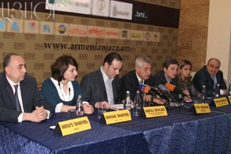 «Armenian jazz 70» project members sum up 2008 year