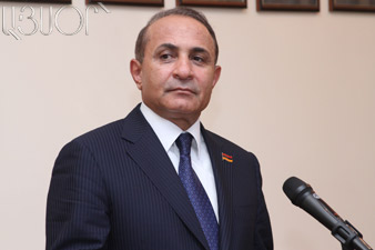 Hovik Abrahamian: There aren't any branches in our party