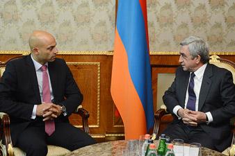 S. Sargsyan receives NATO secretary general's special representative