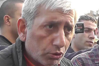 Shant Harutyunian transferred to Convicts' Hospital institution