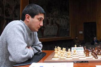 Tigran Kotanjian wins Armenia's Chess Championship