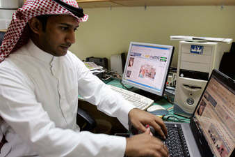 Saudi cleric declares online chatrooms are evil