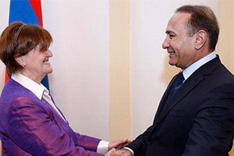 Armenian prime minister receives delegation led by Baroness Cox