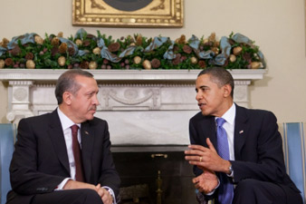 Obama, Erdogan discuss Armenian-Turkish relations