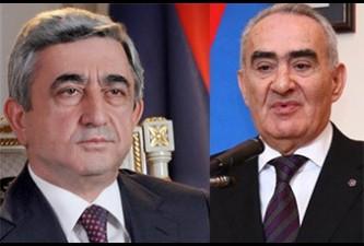 Սերժ Սարգսյանն Ազգային ժողովից հետ է կանչում Հայաստան-Թուրքիա արձանագրությունները