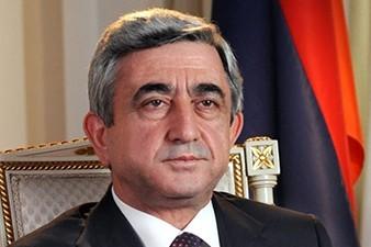 Armenia President conveys condolences to Turkey President