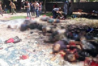 At least 27 dead in suspected ISIL suicide bombing in Turkey's border with Syria
