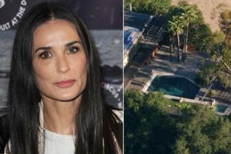 Man found dead in Demi Moore's pool