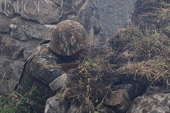 Defense Army of Nagorno Karabakh stops offensive actions of Azerbaijani troops