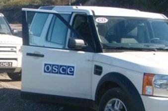 No violation of cease-fire regime recorded during OSCE Mission monitoring