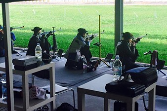 Armenian athletes compete in European Shooting Championship in Slovenia