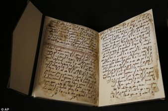 'Oldest' Koran fragments found in Birmingham University