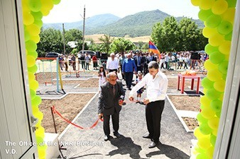 Бако Саакян посетил село Нор Сейсулан Мартакертского района