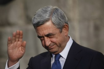 President Serzh Sargsyan takes short vacation