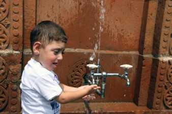 Chkalov village provided with drinking water with support of VIvaCell-MTS and two foundations