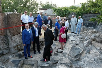 Armenian government to allocate funds for excavations of Arshakuni dynasty sepulcher