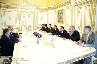 Armenian PM meets with Iraqi Kurdistan minister