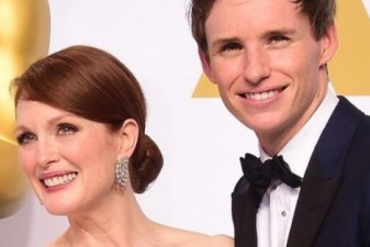Eddie Redmayne and Julianne Moore aim for double Oscar success