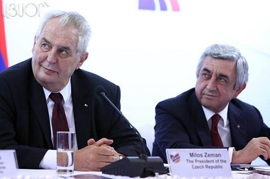 Милош Земан: В Армении созданы все условия для инвестиций