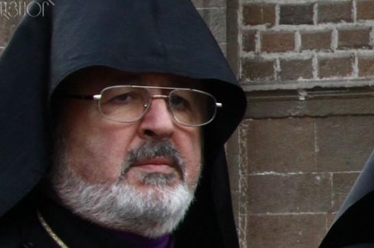 Наместник армянского патриарха Константинопольского архиепископ Арам Атешян посетит Армению