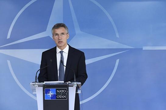 НАТО продолжает стремиться кконструктивному разговору  сРоссией: генеральный секретарь  НАТО