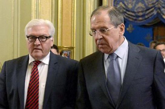 МИДРФ Лавров иШтайнмайер обсудили Сирию и государство Украину