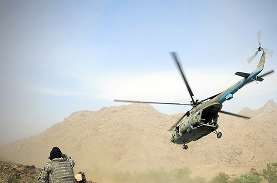 ВАфганистане освободили русского пилота с схваченного талибами Ми-17