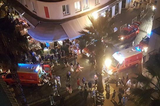 ВоФранции 40 человек пострадали вдавке, вызванной взрывами петард