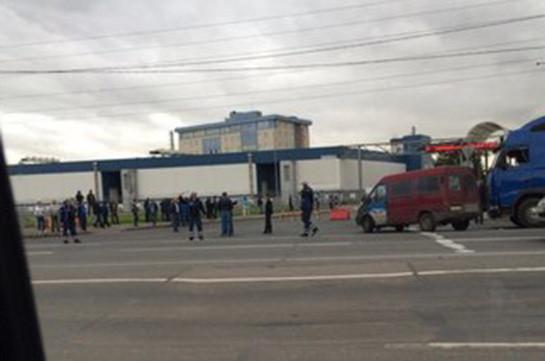 Азербайджанцы снова устроили стрельбу на Софийской овощебазе в Санкт-Петербурге