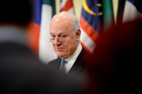 Спецпосланник ООН: инициативу поурегулированию вСирии озвучат до13сентября