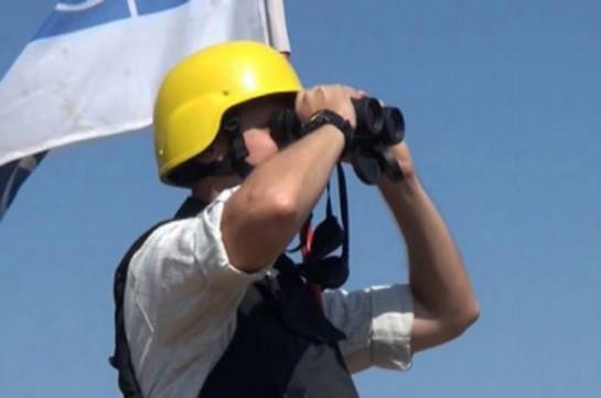 Мониторинг накарабахско-азербайджанской линии соприкосновения прошел без инцидентов
