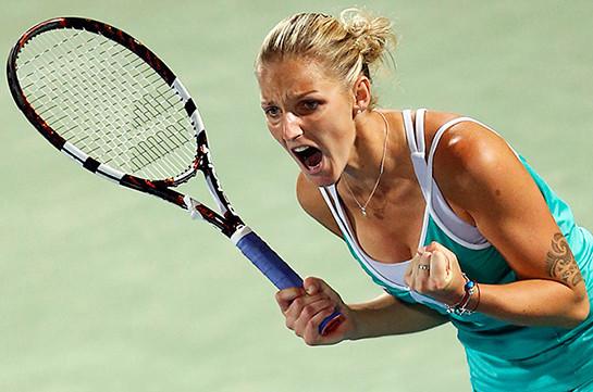 Финалистками Открытого чемпионата США потеннису стали Каролина Плишкова иАжелика Кербер