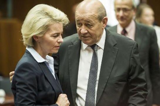 Франция иГермания разработали концепцию оборонной политикиЕС
