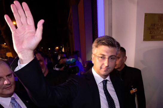 Выборы впарламент Хорватии: лидируют консерваторы