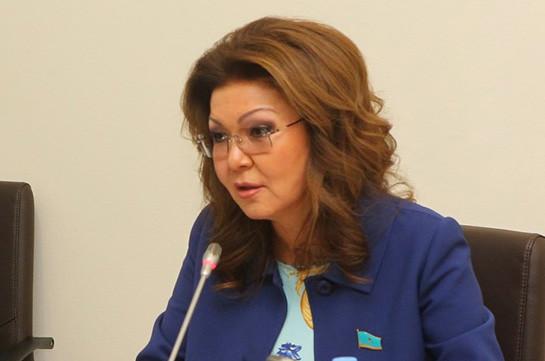 Дарига Назарбаева стала депутатом Сената