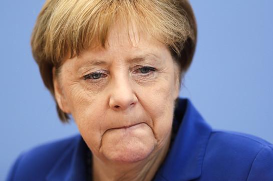 Ангела Меркель признала свое бессилие, пообещав неупотреблять излюбленную фразу «Мысправимся!»