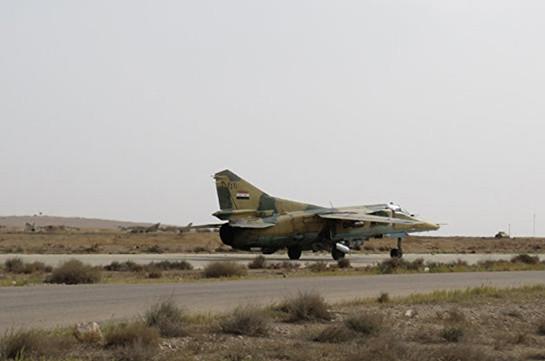 Террористы сбили самолет сирийских ВВС квостоку отДамаска
