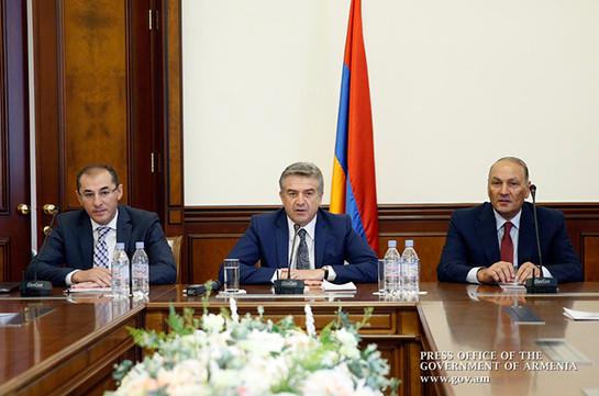 Премьер Армении ждет настоящих исмелых шагов отновых министров