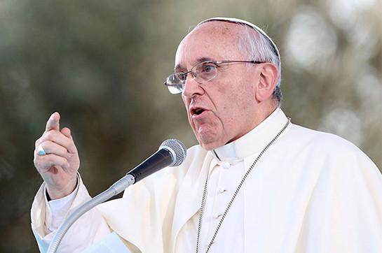 папа франциск призвал урегулированию конфликта ближнем востоке