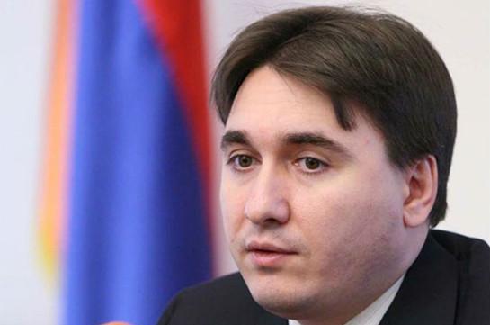 «Айкакан жаманак»: Обязанности секретаря Совета национальной безопасности исполняет руководитель Аппарата президента Армении
