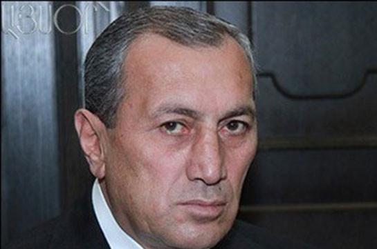 Сурен Хачатрян освобожден отдолжности губернатора Сюникской области Армении