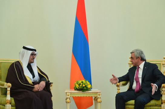 Армения заинтересована в укреплении и углублении отношений с Кувейтом