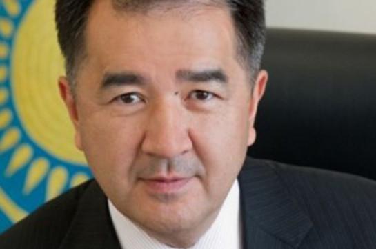 Премьер-министр Казахстана прибыл в Ереван