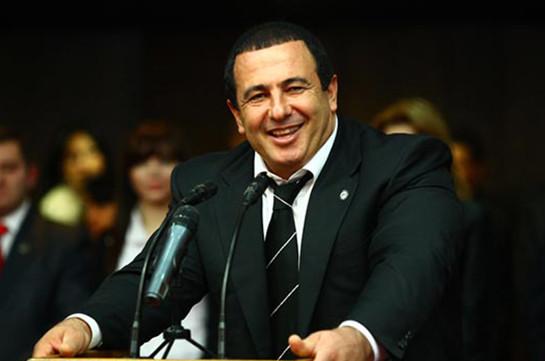 Депутат: Царукян возглавит общую предвыборную схему «Процветающей Армении»