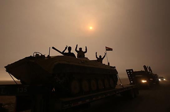 Шиитское ополчение начало наступление наконтролируемыйИГ город Телль-Афар
